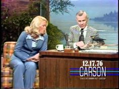 "Joan Embrey Brings a Laughing Bird on ""The Tonight Show Starring Johnny Carson"" — 1976 http://sonnyradio.com/johnny-carson-howard-laughing-bird.html"