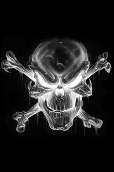 I love any wicked skull tattoo.