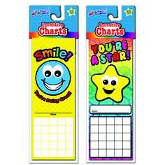 Working towards a goal? Keep your students motivated with Incentive Charts! Give them a sticker to put on their chart each time they do something well! These are perfect for motivating your students to work harder!  Available exclusively at Dollar General for just $1!