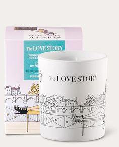 Coffret bougie parfumée the love story Rendez-vous à Paris