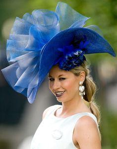 ascot hats   Ascot hat in Blue   Chapeaux