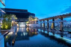 Aspirational: The St. Regis Bangkok Aside from the butler service, the huge windows in the rooms, the plush furnishings, and the vintage wine selection, it's the rooftop infinity pool that's the gem in The St. Regis Bangkok's crown.