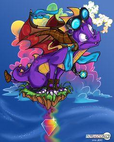 Rainbow Veins x Spyro