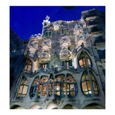 My Barcelona – City of Dreams | Frog + Princess Blog found on Polyvore