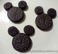 Oreo's are dairy free!!! Mickey Mouse Clubhouse birthday party ideas along with links to free printables from Disney #KidsParties