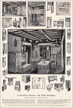 Will Bradley - Ladies Home Journal-Mar 1902 by American Vintage Home, via Flickr