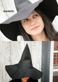 delia creates: Make a Witch Hat in Any Size TUTORIAL