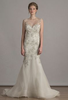 Brides.com: . Wedding dress by Liancarlo