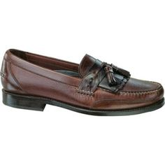 $224, Dark Brown Leather Tassel Loafers: Neil M Murphy Walnutgaucho Leather Tassel Loafers. Sold by Shoebuy. Click for more info: http://lookastic.com/men/shop_items/238115/redirect