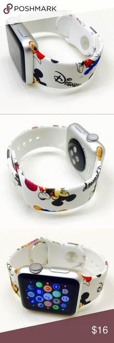 38mm Disney Apple Watch Band (M/L) Brand new 38mm Apple Watch Band  (Watch is not included) Great Gift for your friends and Love ones !!! Disney Accessories Watches