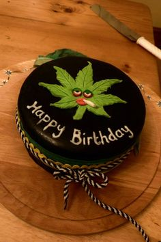 Cannabis cake.  It's a stoner thing.  #420