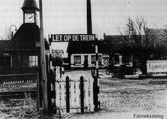 Leeuwarden: De Fabriekssteeg omstreeks 1957