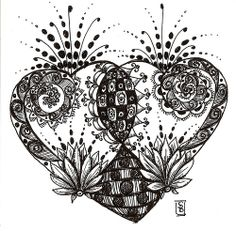 doodle heart | Flickr - Photo Sharing!