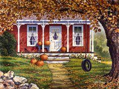 John Sloane. Autumn Shadows