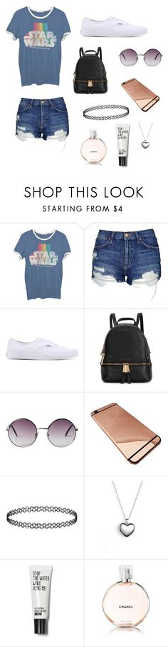 """March 5th"" by sbrooks97244 ❤ liked on Polyvore featuring косметика, Junk Food Clothing, Topshop, Vans, Michael Kors, Monki, Pandora и Chanel"