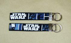 Star Wars Key wristlet mini lanyard key fob by MayhemKittysDesigns