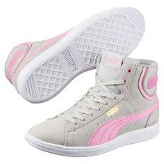 Vikky Mid Women s High Top Sneakers   Asphalt-Baja Blue   PUMA Shoes   PUMA  United States e9818571db