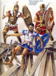 Guerrieri etruschi, 508 a.C.