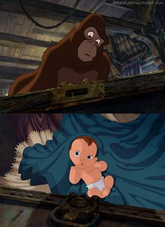 When I was a kid, this was my favorite movie. Up to a point. You think I'm joking. I literally walked away when Tarzan grew up.