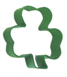 Green Shamrock St Patrick's Day Cookie Biscuit Pastry or Craft Cutter