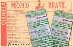 La Quiniela del México-Brasil    ¿Les gustaría estar presentes con el Tri en el arranque de la eliminatoria rumbo al Mundial 2014?    Pues FutbolSapiens los invita a vivir en el mismísimo Coloso de Santa Úrsula las incidencias del partido México-Guyana, siempre y cuando sean los ganadores de la quiniela del amistoso entre aztecas y amazónicos del próximo domingo.    Así es, ¡hay cinco pases dobles en juego y tu puedes ser uno de los afortunados!    Respondan las preguntas de la quiniela.