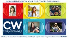 Show Your True Colors and check out the looks from these Lifestyle and Entertaining Experts at #CWColor!