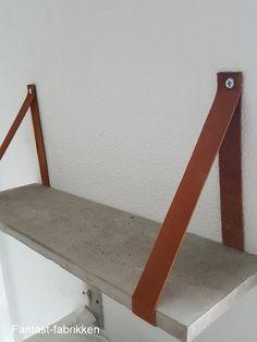 diy concrete shelf Fantast-fabrikken