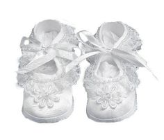 baby satin shoes - Google Search