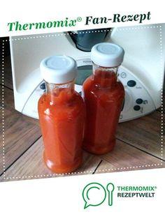 Ketchup, super lecker! von Ina1910. Ein Thermomix ® Rezept aus der Kategorie Saucen/Dips/Brotaufstriche auf www.rezeptwelt.de, der Thermomix ® Community.