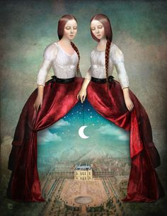 'Celestial+Theatre'+by+Christian++Schloe+on+artflakes.com+as+poster+or+art+print+$22.17