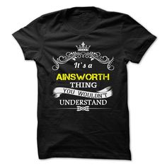 (Tshirt Nice T-Shirt) AINSWORTH  Coupon Today   Tshirt For Guys Lady Hodie  SHARE and Tag Your Friend