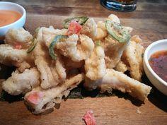 Calamari at Moxie's