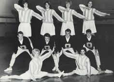 Old School Cheerleading! For more info about cheerleading history: http://bit.ly/CheerleadingHistory #cheer #cheerleading #vintage