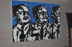Oil on canvas. Artwork by Conran Botha. Art exhibition - 2012