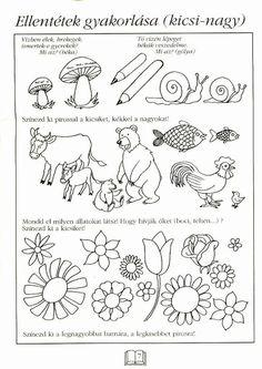 Fotó: Kindergarten Math, Special Education, Preschool Activities, Worksheets, Album, Learning, Children, Prints, Archive