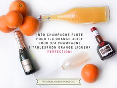 How to Make the Perfect Mimosa, Dallas Mimosa