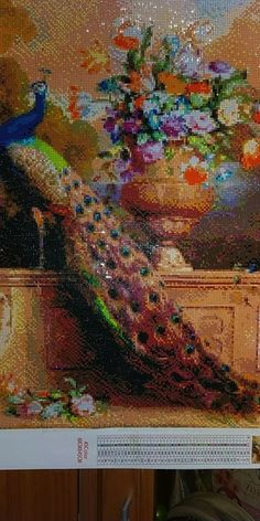 5D DIY Diamond Painting Animal Diamond Mosaic Cross Stitch Full Square – Ezbuypay Mosaic Crosses, Peacock Art, Diamond Paint, Good Morning Wishes, Animal Paintings, Things To Buy, Different Colors, Cross Stitch, Embroidery