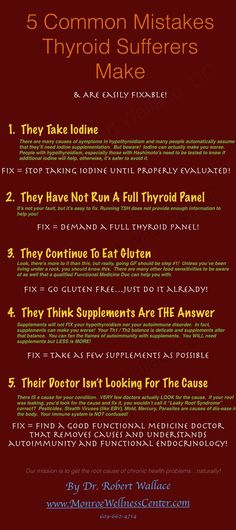 Are you making these common hypothyroid mistakes?