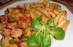 Katův šleh ze sojového masa Tempeh, Tofu, Kung Pao Chicken, Yummy Food, Baking, Ethnic Recipes, Diet, Delicious Food, Bakken