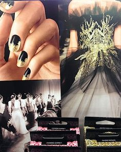 Revlon Marchesa Nail Decal Stickers. Spring/Summer 2014 Trends