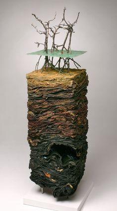 Michael McGillis / Petrobras drilling field, coastal Brazil, micro disasters serie, 2003