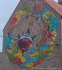 The Crystal Ship #8: Siegfried Vynck #Oostende #Graffiti #Streetart #Art #TheCrystalShip #thcrstlshp #SiegfriedVynck #Streetartphotography