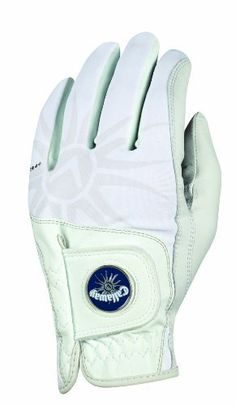 Callaway Golf Women's Left Hand Solaire Glove (Medium) by Callaway. $19.99. Premium fit and feel for every woman's game  • Premium Cabretta leather on palm and thumb for soft feel  • Synthetic leather back for enhanced comfort and durability  • Lycra across knuckles and fingers for flexibility and ventilation  • Magnetic ball marker on pull tab in 3 color options