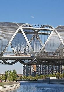 Arganzuela footbridge, Madrid, ESPAÑA
