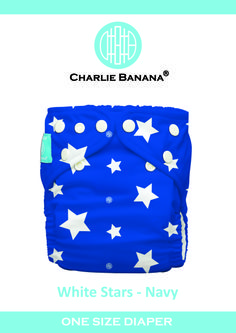 White Stars on Navy part of pack of 6 Project Child Save as well as Pack of 3 Americano #clothdiapers