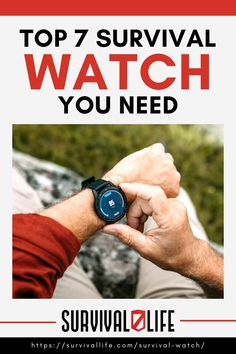 Having a functional survival watch can significantly impact your ability to thrive in the elements when worse comes to worst. However, choosing the best survival watch can be tricky as they all look great on paper. Fortunately for you, we have gotten the guesswork out by doing the hard work for you. #survivalwatch #survivalgear #survival #preparedness #survivallife Survival Watch, Survival Life, Survival Gear, Best Military Watch, Military Men, G Shock Mudmaster, Nato Strap, Citizen Eco, Casio G Shock