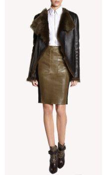 Balenciaga Fur-Lined Jacket