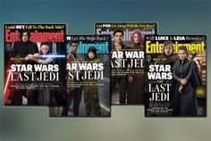 Roundup: Second Batch Of Entertainment Weekly 'The Last Jedi' Articles Star Wars Collection