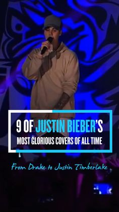 Justin Bieber has proved one thing to be very true—the man can sing! For 9 of his most glorious covers of all time check out PEOPLE's Snapchat Discover