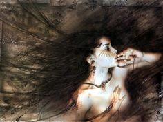 Gallery of some works by Luis Royo. Luis Royo, Spanish Artists, Fantasy Illustration, Art Graphique, Fantastic Art, Fantasy World, Dark Fantasy, Vampires, Dark Art
